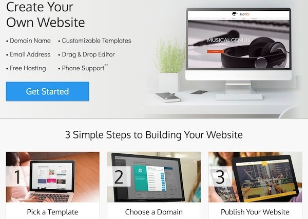 SiteBuilder review best website builder