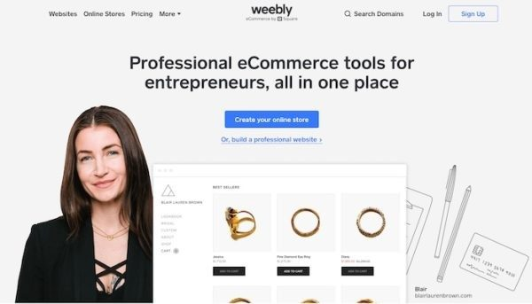 Weebly best free website builder