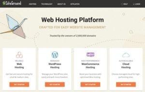 Siteground best wordpress web hosting