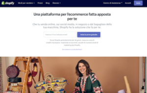 hopify software per creare ecommerce