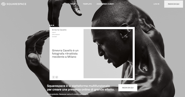 Squarespace in italiano