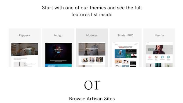 artisan wp themes