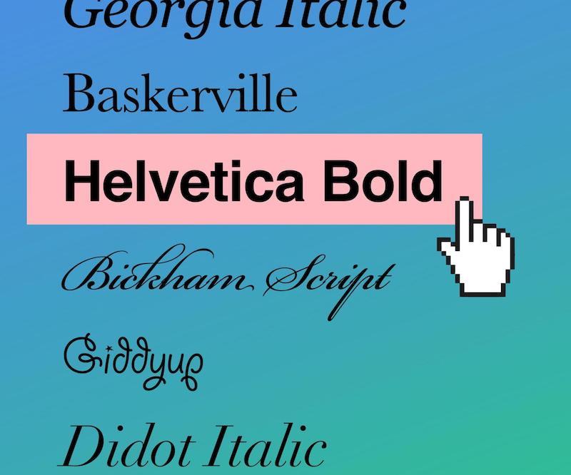 Best web safe fonts