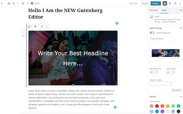 Gutemberg New WordPress Editor