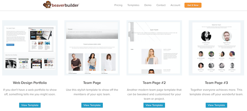 Beaver Builder Templates