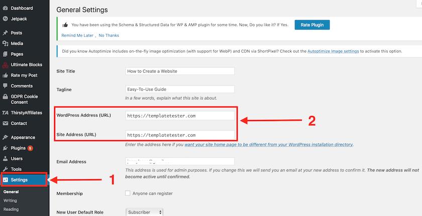 Come risolvere err_too_many_redirects dalla bacheca WordPress