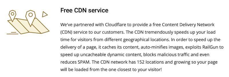 SiteGround é partner ufficiale di Cloudflare CDN
