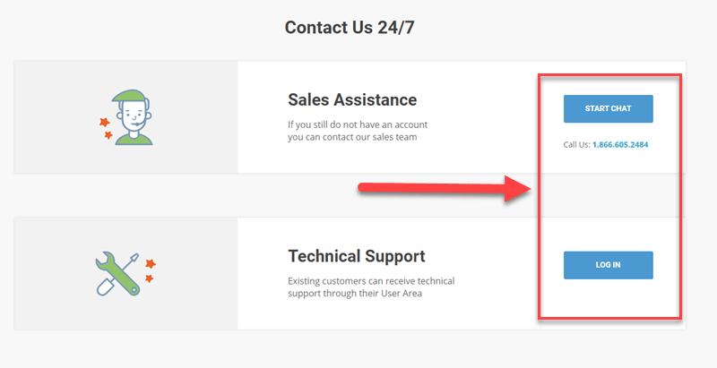 SiteGround vs Bluehost Assistenza clienti