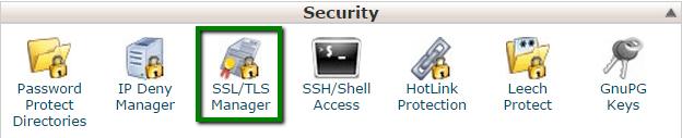 Install an SSL certificate