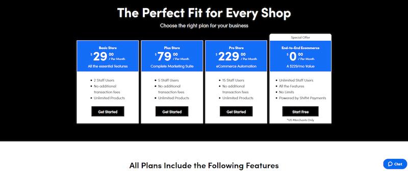Shift4Shop price